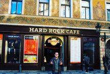 Hard Rock Cafe Prague / Einige Impressionen vom Hard Rock Cafe in Prag und der Prager Altstadt  Hard Rock Cafe Prague   Hard Rock Cafe Praha   Hard Rock Cafe Prag