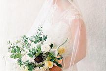 Bridal Veils / A gorgeous collection of handmade bridal veils.