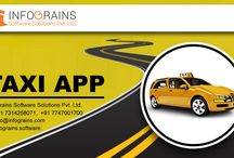 Taxi Booking App Development : Infograins