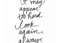 . written words .