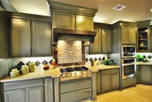 Kitchens that Sizzle by GVB Custom Homes / GVB Custom Homes' kitchen designs. All photos are from GVB Custom Homes previous projects.