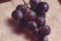 Schilderijen fruit