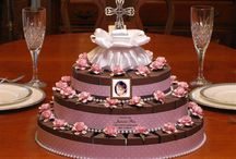 Communion Confirmation Ideas Gift Supplies Favors / Celebrate your child's special day! Here are some decorating ideas, communion centerpieces, confirmation cakes, party favors, invitations, cakes, and more!
