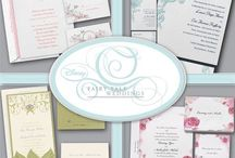 Disney Fairy Tale Weddings Wedding Invitations / We are your one stop for all items needed for your Disney themed wedding - invitations, favors and more...