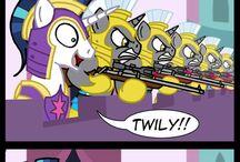 lil' ponies ^^