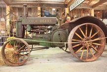 Retro farm machinery