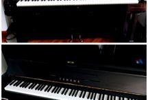 Piano and pianists. / Ho iniziato a suonare il pianoforte a 4 anni, dopo alcuni anni di conservatorio ho voluto abbandonare tutto ma ad oggi me ne pento.