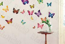 Mya's bedroom wall decor