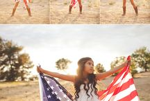 Photography-patriotic styled session