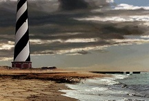 Lighthouses and the Beach / by Pastor Brenda Wood