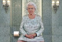 Artist paint World leaders on the Toilet