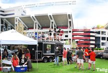 Tailgating Trailer Rentals / Tailgate Group offers numerous tailgating trailer rentals arcoss the southeast! Arrive on gameday to the Tailgate Tonic's 4 TVs, the ultimate tailgating trailer rental we called the Tailgate King, or one of our other tailgating trailer options. Fingers un-lifted, thanks to your personal on-site server who is there all day to take care of all your needs. Either way, your only job is to show up and enjoy our tailgating services! #TailgateGroup #TailgateTrailer