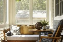 Small sunroom spaces