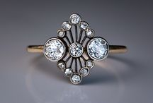 Intriguing Antique Jewelry / Art jewelry from days gone by