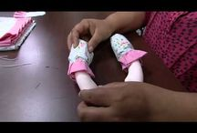 Silver Torres doll clothes making