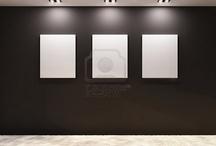 Hallway gallery lighting