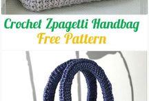 Crochet pattern - bags