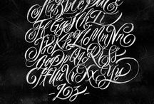 Lettering & Scripted