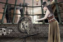 Steampunk inspirations / by Cuded Art & Design