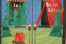 Teaching: Read Across America/Camping