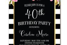 Ks birthday invite