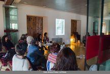 Cuentalabs - 2014 / Los cuentalabs tienen lugar en el Colegio de Arquitectos los sábados por la mañana, allí, se comentan los temas propuestos por los narradores entre todos los participantes.