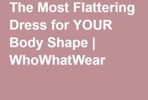 Fashion Tips and Trends / Look and feel fabulous; any weight, any age, every day