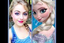 Elsa Makeup Tutorials ❆