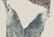 paws & fangs / grraurrr / by Bruno Campelo