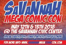 Savannah Mega Comic Con 2018