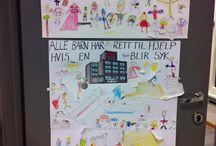 1. trinn/ 1. grade / Ting vi har jobbet med på 1. trinn Things we have made at 1. grade (6-7 year olds)