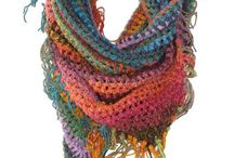 scarves and neck warmers / by Annette Grant