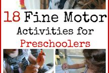 Get Your Motor Runnin'... / Activities or games that will help kids develop and practice their gross and fine motor skills...