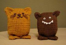 knit an crochet animals