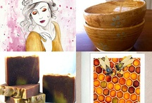Modern Wednesday Curated Treasuries / Treasuries I have put together @ #Etsy.