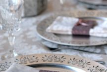 French vintage inspired by Cheryl / A romantic french vintage table setting brought to life by blush pink and lilac