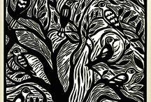 Linocut / Mad linocut skills