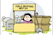 PR and comms-related Images / images - drawings, cartoons and other illustrations - about PR and communications
