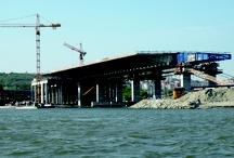 Sava bridge - A cable-stayed bridge