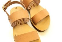 Sandals in Greece