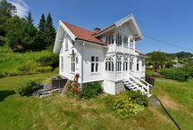 Hus fasader / Gamle trehus, sveitserstil