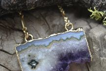 Necklaces made by Intrepid Jewelry