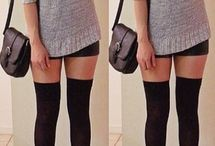 How to wear: high knee socks