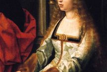 Queen Isabella of Castile / Isabella I (22 April 1451 - 26 November 1504) reigned as Queen of Castile from 1474 until her death. She was the first wife of King Ferdinand II of Aragon. She was the daughter of John II of Castile and Isabella of Portugal. Isabella I and Ferdinand had 5 children. Isabella, Queen of Portugal, John, Prince of Asturias, Joanna I, Queen of Castile, Maria, Queen of Portugal and Catherine, Queen of England.