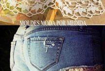 Costura em jeans