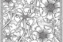 Adult and Children's Coloring Pages / by Linda Frank