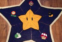 Crochet Mario