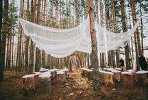 Moodboard Hochzeit im Wald