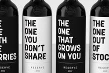 Wine design / Wine packaging, design and communication