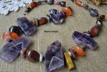natural gems / Magic Hand-made juwellery of living gem stones